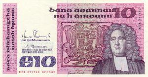10 funtów irlandzkich - banknot 3