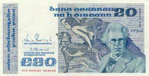 20 funtów irlandzkich - banknot 2