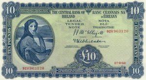 10 funtów irlandzkich - banknot 4