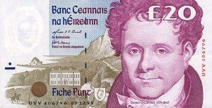 20 funtów irlandzkich