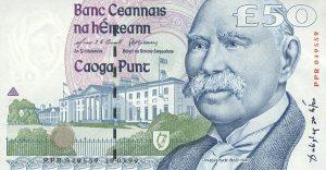 50 funtów irlandzkich