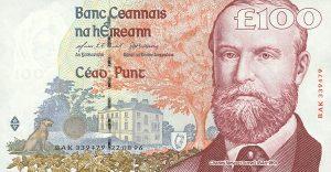 100 funtów irlandzkich
