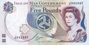 5 funtów manx - wyspa man