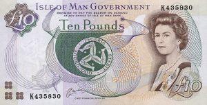 10 funtów manx - wyspa man