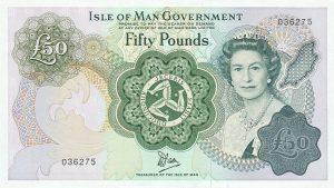 50 funtów manx - wyspa man