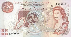 20 funtów manx - wyspa man