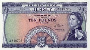 10 funtów jersey - banknot 2