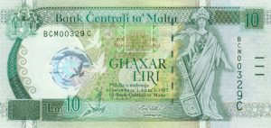 10 lir maltańskich