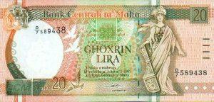 20 lir maltańskich