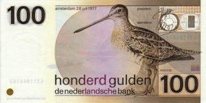 100 guldenów holenderskich - banknot 2
