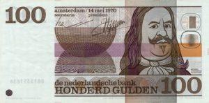 100 guldenów holenderskich - banknot 3