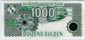 1000 guldenów holenderskich - banknot 2