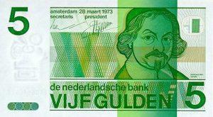 5 guldenów holenderskich - banknot 2