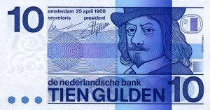 10 guldenów holenderskich