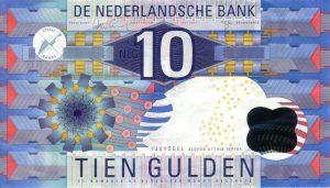 10 guldenów holenderskich - banknot 2
