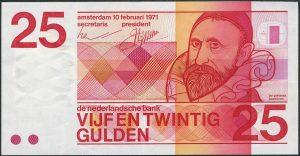 25 guldenów holenderskich