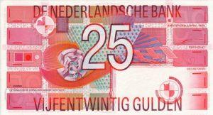 25 guldenów holenderskich - banknot 2