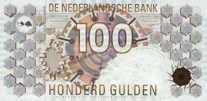 100 guldenów holenderskich