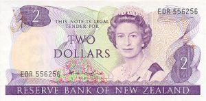 2 dolary nowozelandzkie
