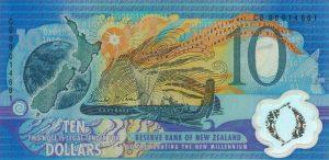 10 dolarów nowozelandzkich - banknot 3