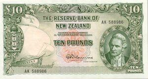 10 funtów nowozelandzkich