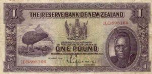 1 funt nowozelandzki - banknot 2