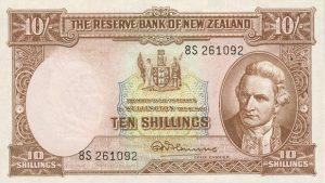 10 shilingów nowozelandzkich