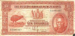 10 shilingów nowozelandzkich - banknot 2