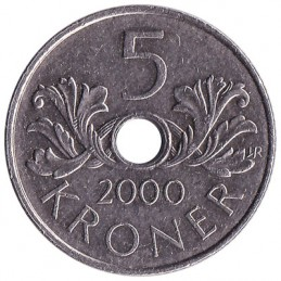 5 koron norweskich