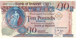 10 funtów północnoirlandzkich