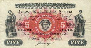 5 funtów północnoirlandzkich - banknot 3