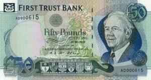 50 funtów północnoirlandzkich - banknot 2