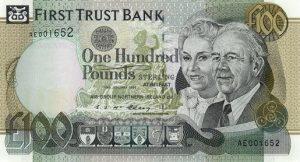 100 funtów północnoirlandzkich - banknot 3