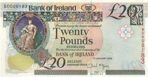 20 funtów północnoirlandzkich