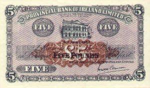5 funtów północnoirlandzkich - banknot 5
