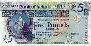 5 funtów północnoirlandzkich