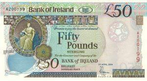 50 funtów północnoirlandzkich