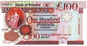 100 funtów północnoirlandzkich