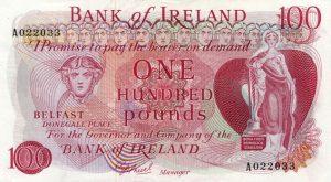 100 funtów północnoirlandzkich - banknot 2