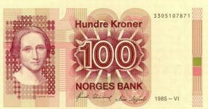 100 koron norweskich