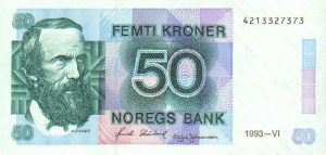 50 koron norweskich