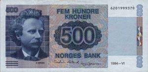 500 koron norweskich