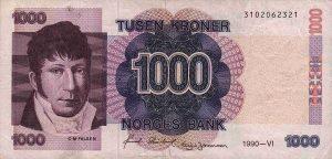 1000 koron norweskich