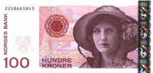 100 koron norweskich - banknot 2