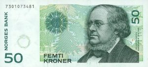50 koron norweskich - banknot 2