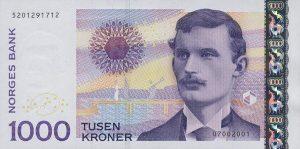 1000 koron norweskich - banknot 2