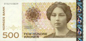 500 koron norweskich - banknot 2