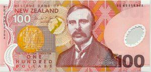 100 dolarów nowozelandzkich - banknot 2