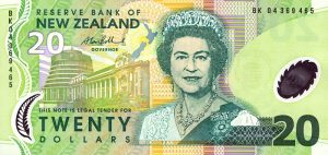 20 dolarów nowozelandzkich - banknot 2