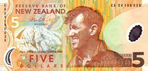5 dolarów nowozelandzkich - banknot 3